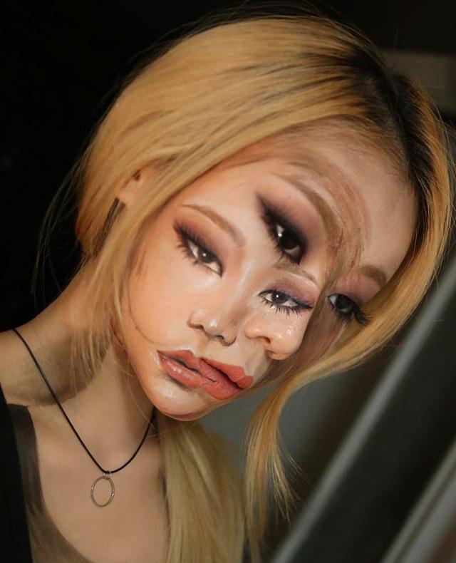 """""""Hoa mắt chóng mặt"""" xem chuyên gia trang điểm biến hình - 16"""