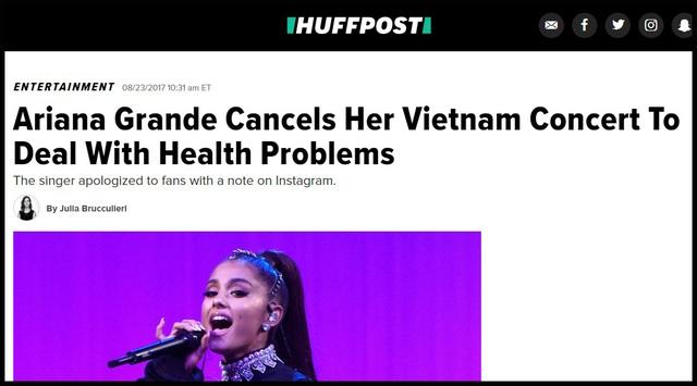 Truyền thông và công chúng Mỹ lo lắng cho Ariana Grande - 3