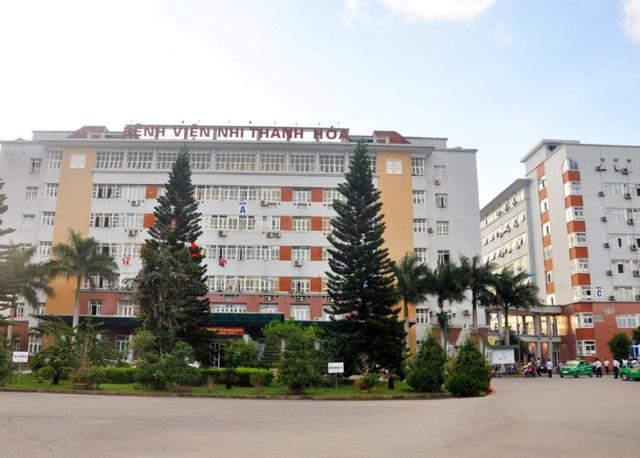 Khu dịch vụ y tế chất lượng cao được xây dựng tại Bệnh viện Nhi Thanh Hóa