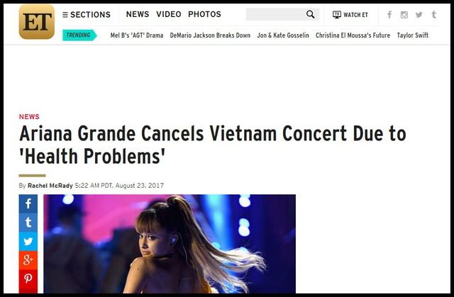 Truyền thông và công chúng Mỹ lo lắng cho Ariana Grande - 4