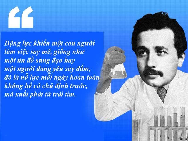 "20 câu nói ""bất hủ"" của thiên tài Albert Einstein - 6"