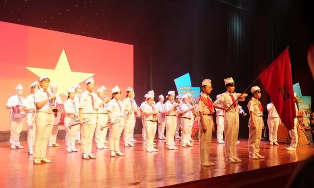 Lễ tuyên dương Liên đội Xuất sắc - nghìn việc tốt vừa diễn ra ở Đà Nẵng trong ngày Quốc tế Thiếu nhi 1/6.