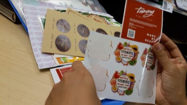 Mỗi con tem mua tại cơ sở in chỉ có giá 60 đồng