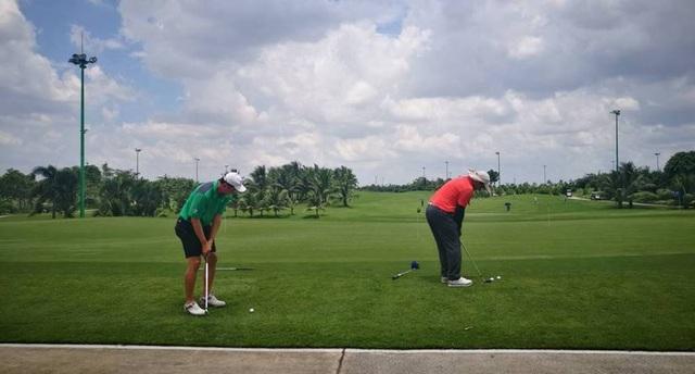 Sân golf Tân Sơn Nhất thường chỉ đón khách VIP. (Ảnh: Nguyễn Quang)
