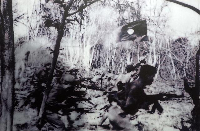 Chiến sỹ Quân đội Giải phóng nhân dân Lào trong chiến dịch Đường 9 Nam Lào, tháng 3/1971.