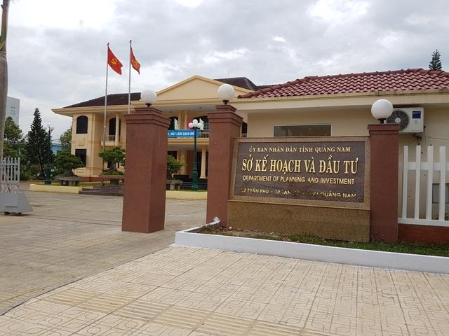 Phòng Đăng ký kinh doanh (Sở KH-ĐT Quảng Nam) bị kiện ra tòa