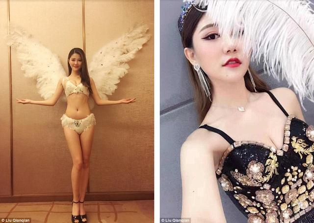 """Liu Qianqian (23 tuổi) sở hữu chiều cao 1m75. Cô trở thành người đẹp nắm giữ ngôi vị cao nhất của cuộc thi Người mẫu Vòng 1 Quốc tế tổ chức ở thành phố Hợp Phì, tỉnh An Huy, Trung Quốc. Trước khi đến với cuộc thi, Liu đã thi trượt nhiều lần trong các cuộc tuyển chọn người mẫu cho show của """"Victoria's Secret""""."""