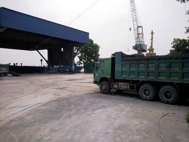 Cảng sông của Tập đoàn Vissai tại phường Bích Đào, thành phố Ninh Bình nằm trong danh sách vi phạm phải bị xử lý.