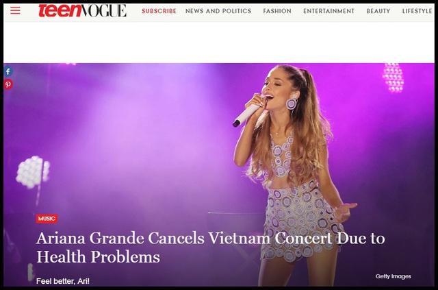 Truyền thông và công chúng Mỹ lo lắng cho Ariana Grande - 5