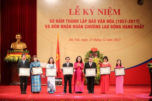 Báo Văn hóa đón nhận Huân chương Lao động hạng Nhất - 3