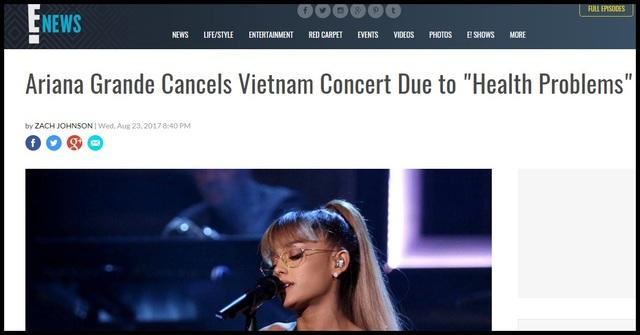Truyền thông và công chúng Mỹ lo lắng cho Ariana Grande - 6