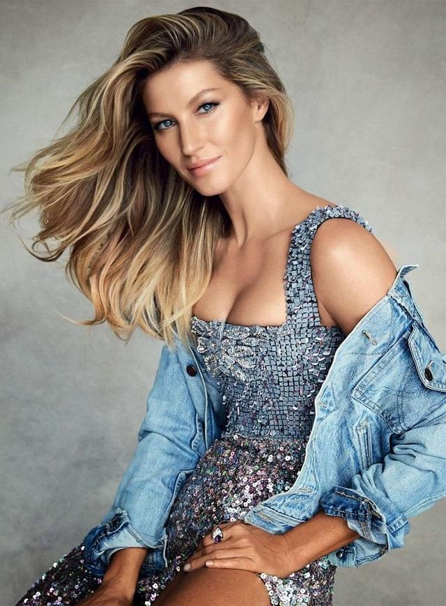 Người mẫu đến từ Brazil - Gisele Bundchen (37 tuổi) - là người mẫu thứ 3 xuất hiện trong danh sách này, cô đứng ở vị trí thứ 6. Gisele là người mẫu nổi tiếng thế giới và sở hữu sự nghiệp thành công hàng đầu trong làng mẫu quốc tế. Một gò má đẹp hẳn đã góp phần làm nên thành công cho sự nghiệp của cô.