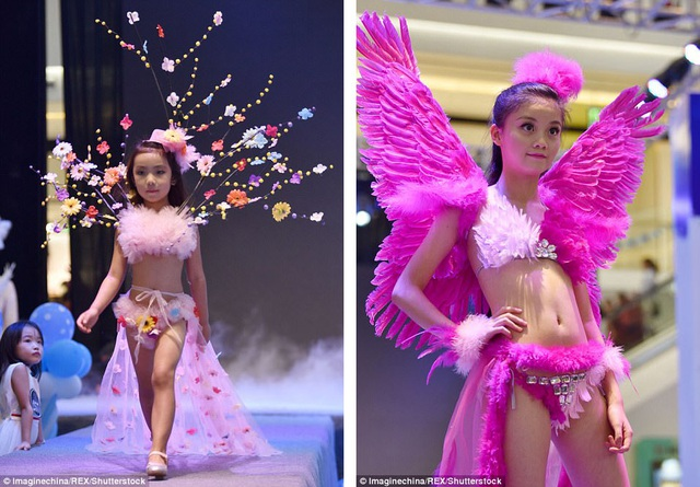 Dư luận Trung Quốc cho rằng buổi trình diễn này không phù hợp với độ tuổi và hình ảnh nên được hướng tới của các bé gái.