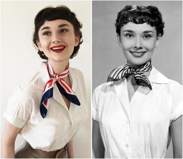 """Minh tinh Audrey Hepburn trong phim """"Roman Holiday"""" (1953)."""