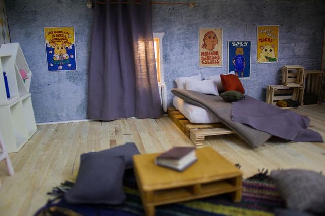 Phòng ngủ của một chú chuột đực.