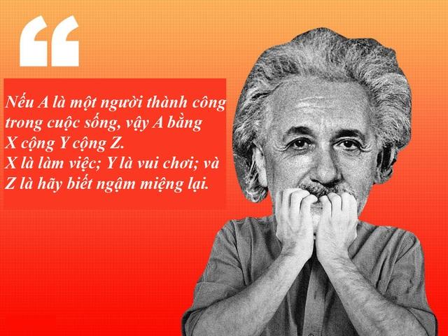 "20 câu nói ""bất hủ"" của thiên tài Albert Einstein - 7"