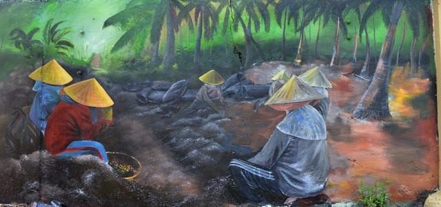 Nghề rong mơ của xã đảo Tam Hải được phác họa chân thật, gần gũi
