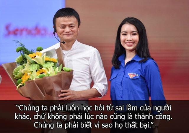 Những câu nói truyền cảm hứng của Jack Ma với sinh viên Việt Nam - 13