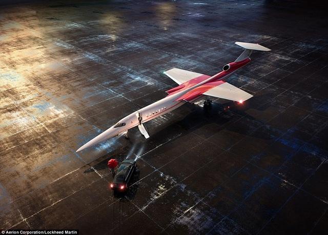 Hình ảnh mô phỏng của máy bay.