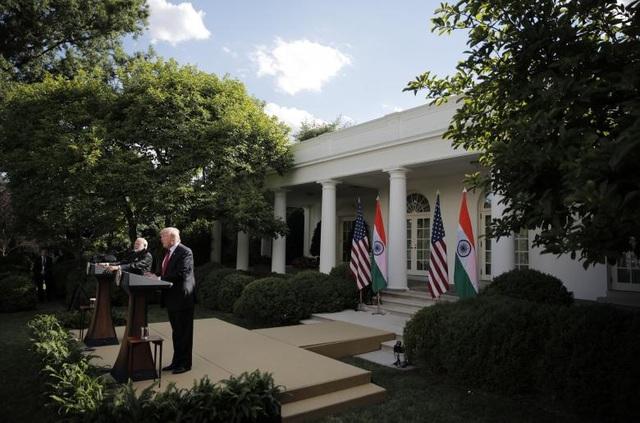 Chuyến thăm của ông Modi nhằm củng cố mối quan hệ song phương Mỹ - Ấn, vốn tốt đẹp từ thời cựu Tổng thống Barack Obama.(Ảnh: Reuters)