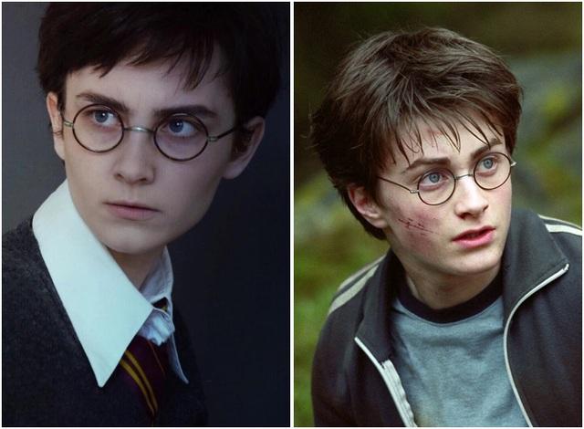 Hóa thân thành Harry Potter.