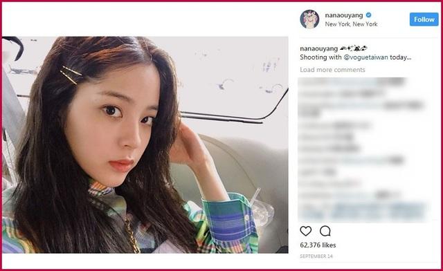 Na Na được mời chụp hình cho tờ tạp chí thời trang Vogue Đài Loan hồi tháng 9 vừa qua.