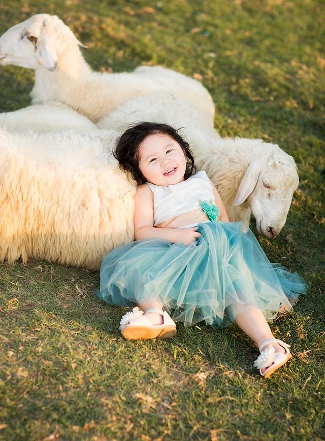 Từ nhỏ MiMi đã yêu thích động vật. Cô bé thích nhất là chó, gà, mèo và cừu.