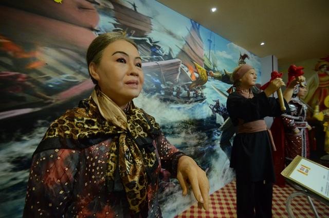 Nghệ sỹ Thanh Nguyệt.