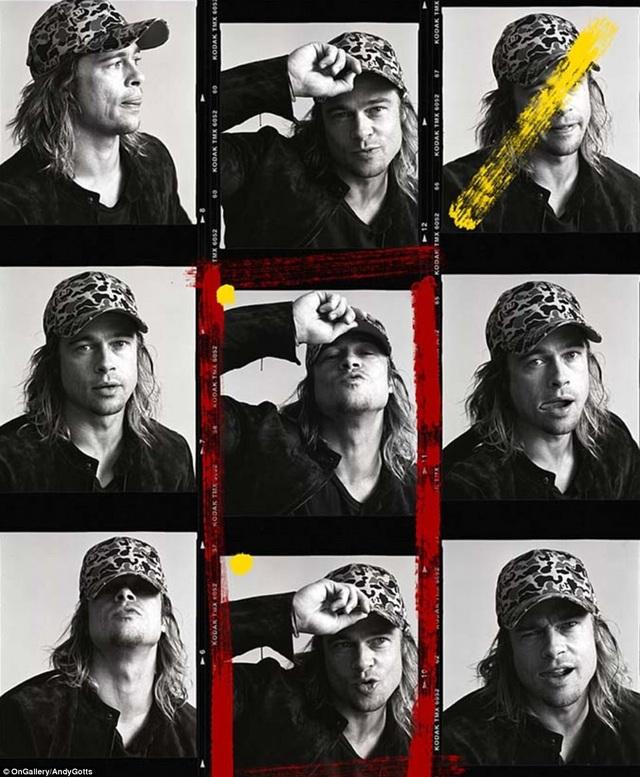 Một loạt ảnh chụp Brad Pitt thuở vẫn còn để tóc dài.