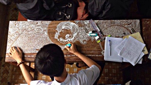 Tác phẩm của Văn Tấn được cộng đồng mạng khen ngợi
