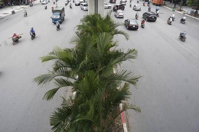 Nguyễn Trãi là trục đường quan trọng ở phía Tây Hà Nội, có mật độ giao thông lớn và thường xảy ra ùn tắc giờ cao điểm.