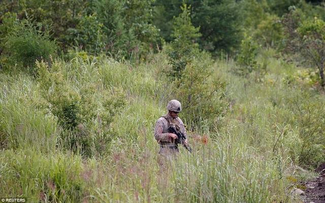 Binh sĩ Mỹ trong cuộc tập trận