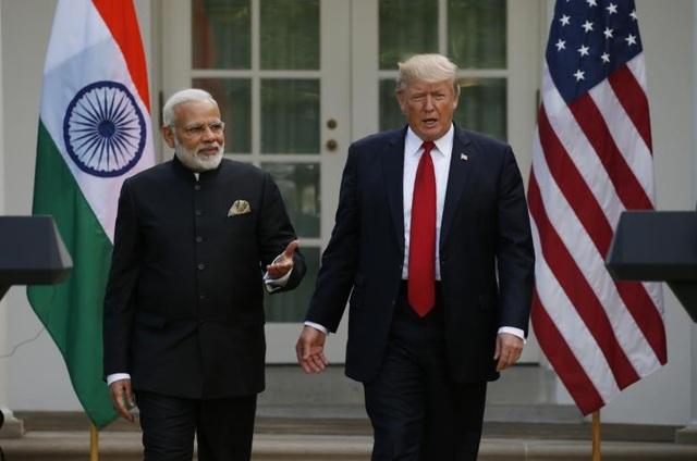 Thủ tướng Modi đã gửi lời mời Tổng thống Trump thăm chính thức Ấn Độ (Ảnh: Reuters)
