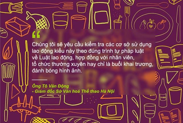 Xem thêm: Vụ thuê trai cơ bắp, cởi trần làm tóc, phục vụ đồ ăn: Hà Nội vào cuộc kiểm tra
