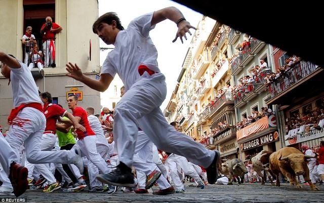 300 cảnh sát được huy động để bảo đảm an ninh. Lễ hội San Fermin là lễ hội lớn nhất của Tây Ban Nha, thu hút một triệu người đổ về thành phố. Những cuộc đấu bò chuyên nghiệp sẽ diễn ra vào buổi chiều, sau đó, bò đấu sẽ bị đưa vào lò mổ theo đúng truyền thống tổ chức lễ hội San Fermin từ trước đến nay.