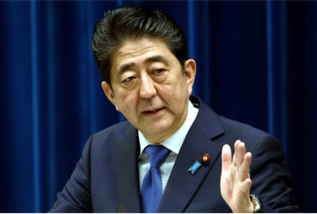 Thủ tướng Shinzo Abe đang đánh cược với cuộc bầu cử sớm vào tháng 10. Ảnh: Tân Hoa