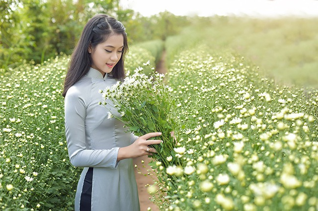 Thiếu nữ bên cúc hoạ mi Hà Nội - 12
