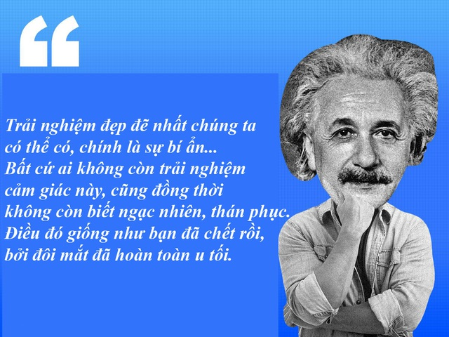 "20 câu nói ""bất hủ"" của thiên tài Albert Einstein - 9"