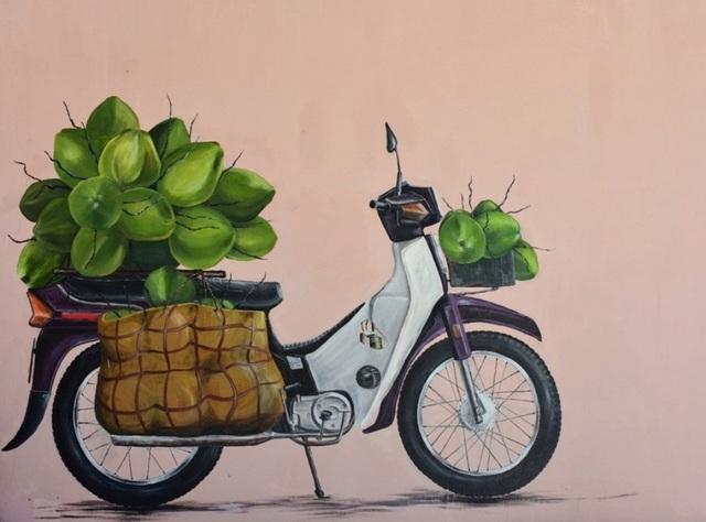 """Xã đảo Tam Hải nổi tiếng là """"đảo dừa"""" của Quảng Nam được các bạn sinh viên khắc họa sinh động"""