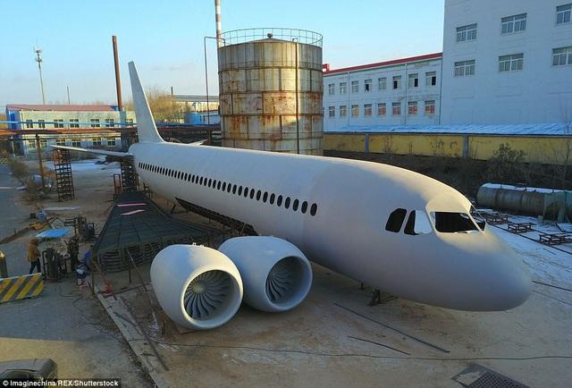 Phiên bản Airbus A320 độc đáo và ấn tượng.