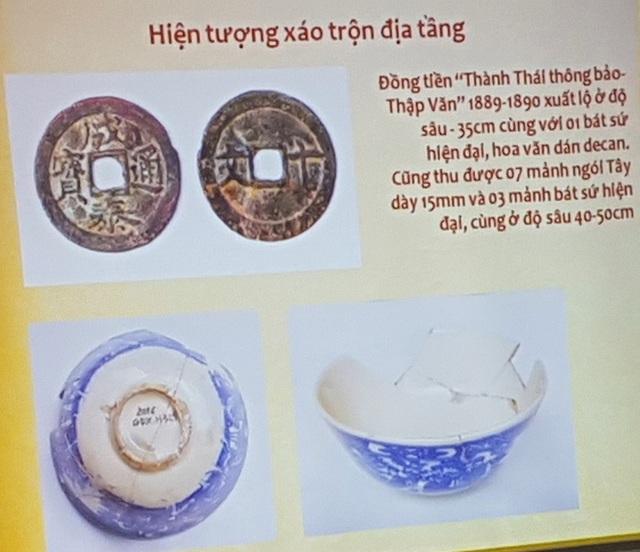 Hơn 1.000 hiện vật, mảnh của nhiều vật liệu được tìm thấy ở 5 hố thám sát khảo cổ tìm vết tích triều Tây Sơn/Quang Trung tại Gò Dương Xuân - TP Huế