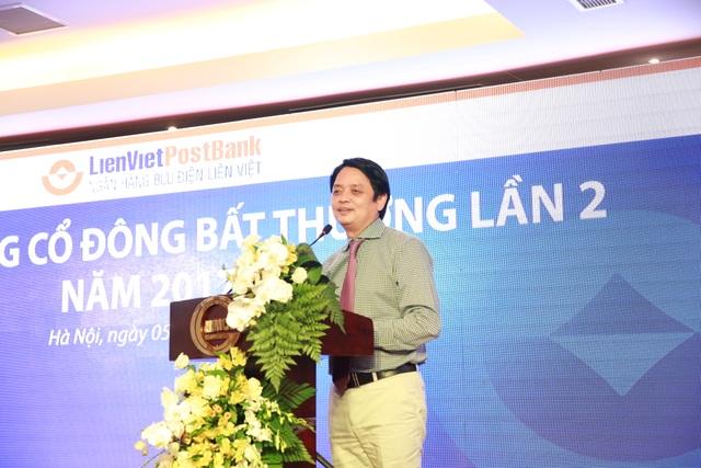 TS.Nguyễn Đức Hưởng - Chủ tịch HĐQT LienVietPostBank