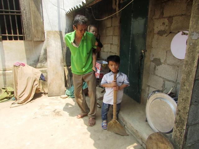 Gia cảnh khó khăn của Nguyễn Nhật Huỳnh. (Ảnh: Như Sương)