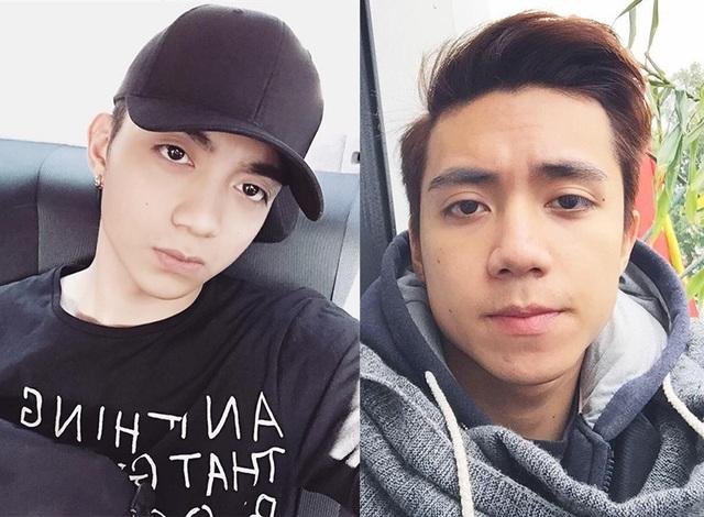 Dương mặt Soobin Hoàng Sơn (bên trái) và Vũ Kiên (bên phải) có khá nhiều nét tương đồng