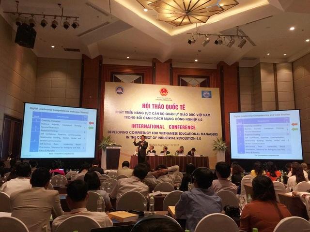 Hội thảo thu hút hơn 10 đoàn chuyên gia quốc tế và một số tổ chức quốc tế tại Việt Nam tham dự.