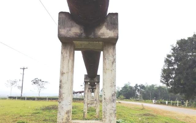 Nghệ An: Công trình thủy lợi tiền tỷ xây xong chờ ngày... phá hủy! - 16