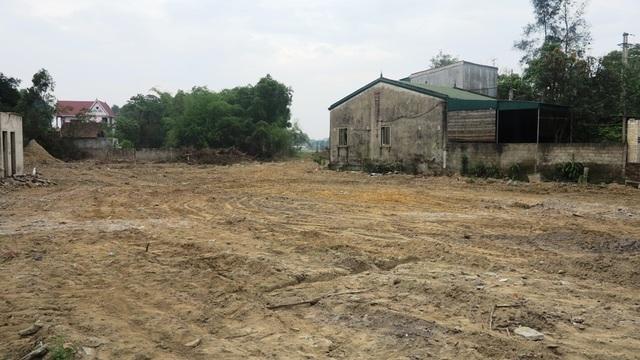 Thửa đất số 144 có hình thù xiên xẹo, sâu vào phía trong nhưng vẫn được hưởng mức giá như các thửa đất khác.