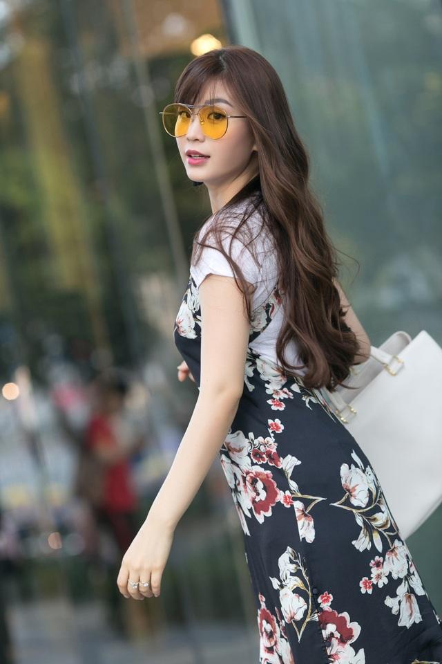 Vẻ đẹp rạng ngời của gái một con Diễm Trang.