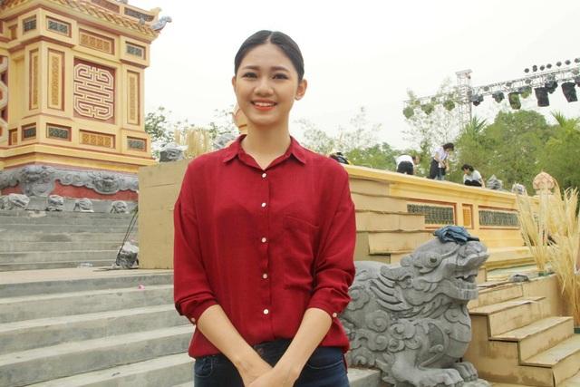Á hậu Thanh Tú chia sẻ những cảm nhận khi tham dự kỳ Festival Huế đầu tiên