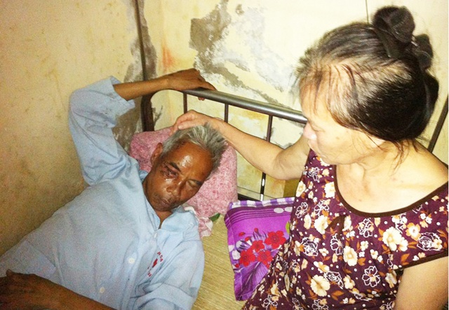 Ông Thanh đang được điều trị tại Bệnh viện đa khoa Hà Tĩnh